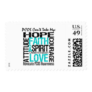 PCOS Can't Take My Hope Collage Postage
