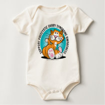 PCOS Cat Baby Bodysuit