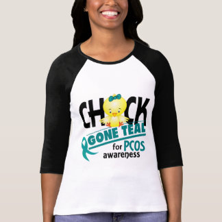 PCOS Chick Gone Teal 2 T-Shirt