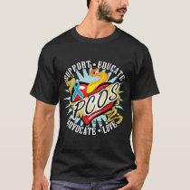 PCOS Classic Heart T-Shirt