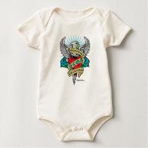 PCOS Dagger Baby Bodysuit