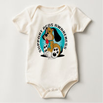 PCOS Dog Baby Bodysuit