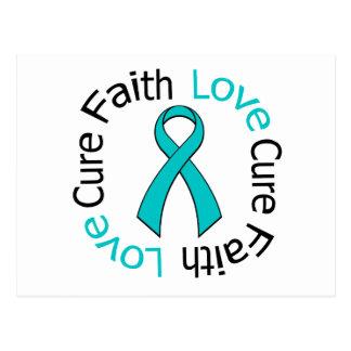 PCOS Faith Love Cure Post Cards