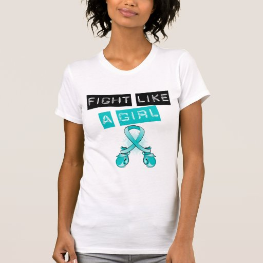 PCOS Fight Like A Girl T Shirt