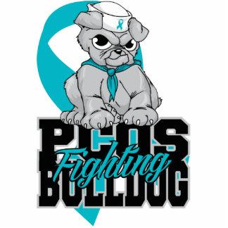 PCOS Fighting Bulldog Statuette
