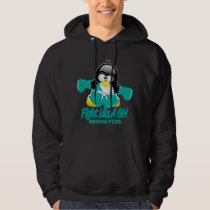 PCOS Fighting Penguin Hoodie