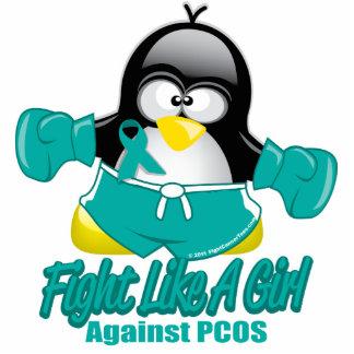 PCOS Fighting Penguin Statuette