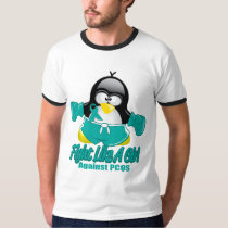PCOS Fighting Penguin T-Shirt