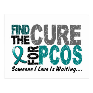 PCOS Find The Cure Postcards