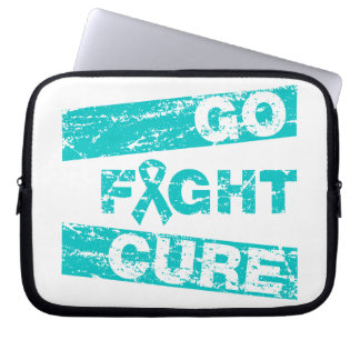 PCOS Go Fight Cure Laptop Sleeves