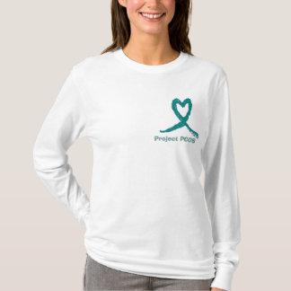 pcos heart ribbon, Project PCOS T-Shirt