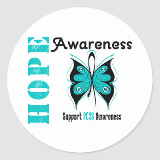 PCOS Hope Awareness Stickers