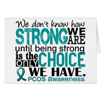 PCOS How Strong We Are Card