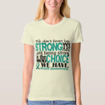PCOS How Strong We Are T Shirts