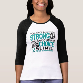 PCOS How Strong We Are Tees