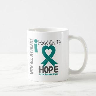 PCOS I Hold On To Hope Coffee Mug