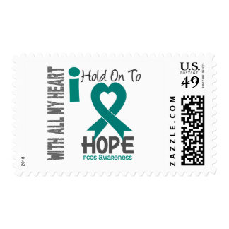 PCOS I Hold On To Hope Postage