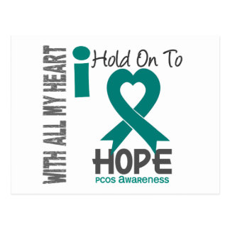 PCOS I Hold On To Hope Postcard