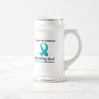 PCOS I Support My Girlfriend Coffee Mug
