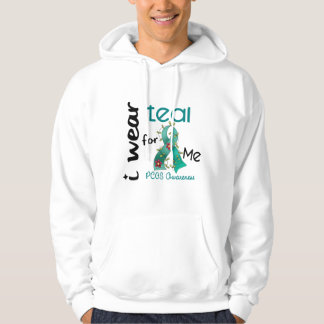 PCOS I Wear Teal For ME 43 Pullover