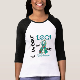 PCOS I Wear Teal For ME 43 Tees