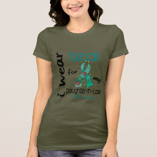 PCOS I Wear Teal For My Daughter-In-Law 43 T-Shirt