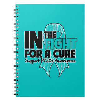PCOS In The Fight For a Cure Spiral Note Book