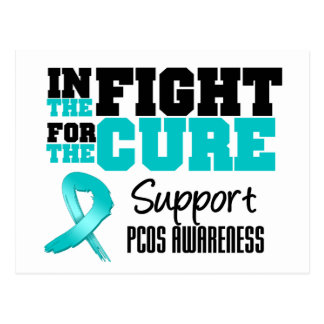 PCOS In The Fight For The Cure Postcard