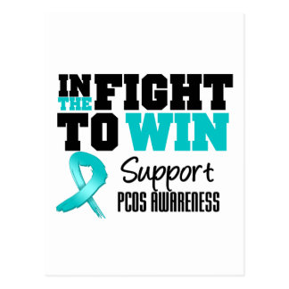 PCOS In The Fight To Win Post Cards