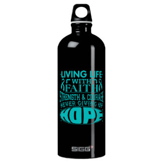 PCOS Living Life with Faith SIGG Traveler 1.0L Water Bottle