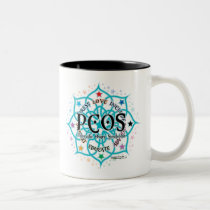 PCOS Lotus Two-Tone Coffee Mug