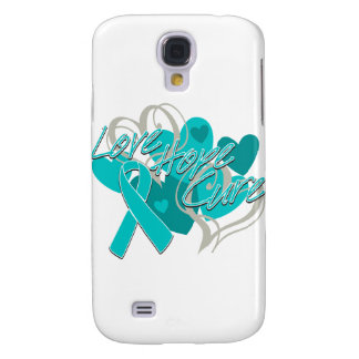 PCOS Love Hope Cure Galaxy S4 Cases