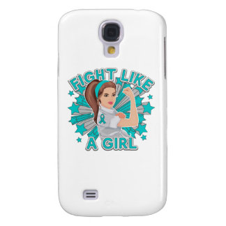 PCOS Modern Rosie The Riveter Fight Like a Girl Galaxy S4 Case