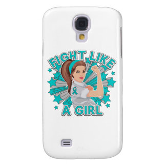 PCOS Modern Rosie The Riveter Fight Like a Girl Samsung Galaxy S4 Case
