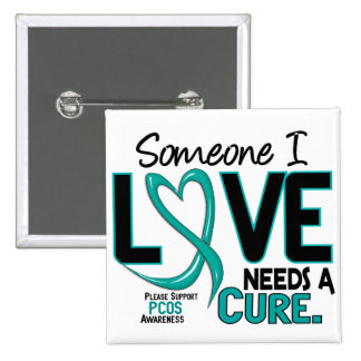 PCOS Needs A Cure 2 Pinback Button