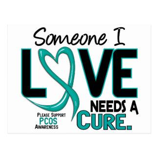 PCOS Needs A Cure 2 Postcards