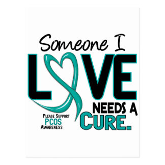 PCOS Needs A Cure 2 Postcard