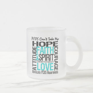PCOS no puede tomar mi collage de la esperanza Tazas De Café
