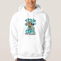 PCOS Paws for the Cure Hoodie
