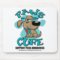 PCOS Paws for the Cure Mouse Pad