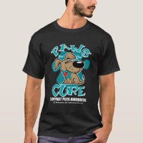 PCOS Paws for the Cure T-Shirt