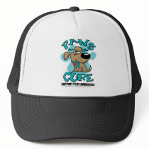 PCOS Paws for the Cure Trucker Hat