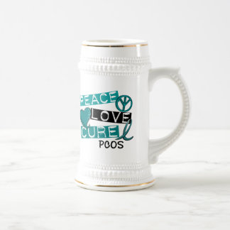 PCOS Peace Love Cure 1 Coffee Mug