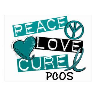 PCOS Peace Love Cure 1 Postcard