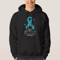 PCOS Ribbon Of Butterflies Hoodie