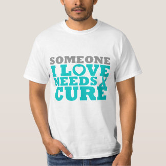 PCOS Someone I Love Needs A Cure Shirt