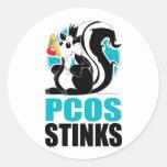 PCOS Stinks Stickers