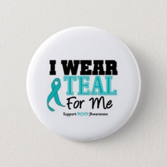 PCOS Support Button! Pinback Button