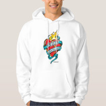 PCOS Tattoo Heart Hoodie