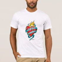 PCOS Tattoo Heart T-Shirt